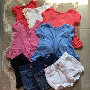 Toddler Girl Summer Clothes Lot - 24m/2T